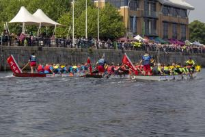 New video of last year's Dragon Boat Challenge