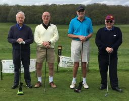 2018 Annual Charity Golf Day raises £2166