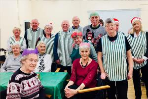 Horwich Rotary Club Cook Up And Serve For Horwich Senior Citizens