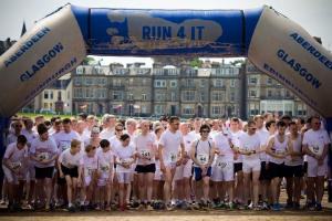 Chariots of Fire 2018 Charity Run on West Sands