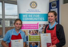 Rotary Young Chef Competition in East Grinstead