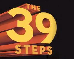 '39 steps' Charity show at Stephen Joseph Theatre