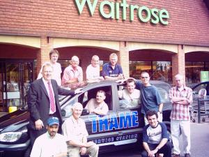 Team Thame Terriers at Waitrose