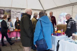 Rotary Stall at Crieff Christmas Market