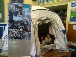 ShelterBox and young people