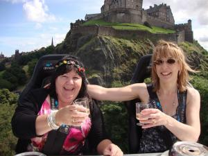 Diane & Laura Dine In The Sky at The Edinburgh Festival