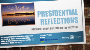 Presidential Reflections