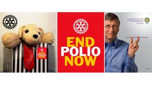 End Polio - collection in Eccleshall