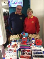 Rotarians Help Poppy Appeal