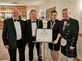Rotary Club of West Fife - 40th Anniversary Charter Dinner
