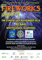 Dumfries Community Fireworks 2016