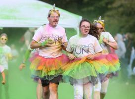 Colour Run at Witney Rugby Club