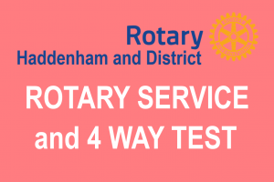 Rotary Service and the Four Way Test