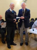 The Rotary Club awards £500 to the Flamingo Pool.