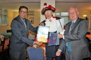 Hospital Consultant from India visits Blackpool South Rotary Club