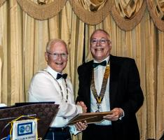 Charter Dinner gift from Rotary Club of Musselburgh is spent