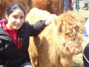 Rotaract student helps at Fife Show