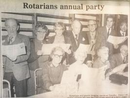 Archive: Rotary Pensioners Party 1981