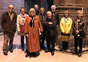 Visit to Anglican cathedral