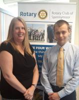 Rotary Club Elects Youngest President