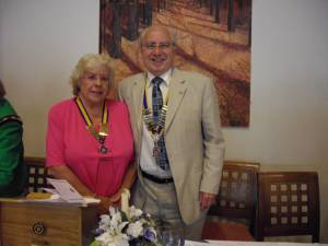 Swadlincote Inner Wheel 64th Charter