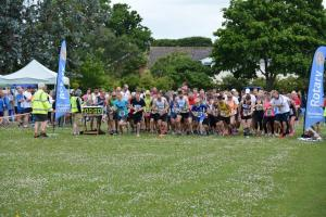Photos from the finish line the 2017 Fun Run