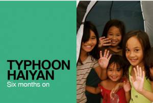 Typhoon Haiyan A report from the Philippines 6 months later
