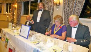 70th Anniversary Dinner night