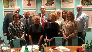 Visitors to Kensington and Chelsea Rotary Club