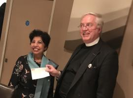 President Saroj Chhabra and The Revd George Bush
