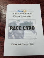 Race Night - February 2020