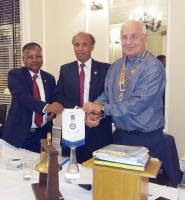 Visit by members of the Rotary Club of Dhaka New City, Bangladesh