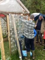 Eco Greenhouses at Scotholme Primary School