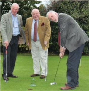 Abergavenny Rotary Golf team win District golf competition (2011)
