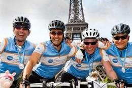 Action Medical Research - London to Paris Bike Ride (17 - 20 July 2013)
