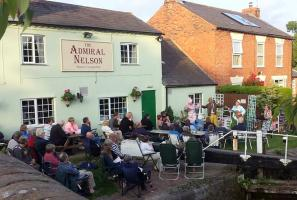 Club Walk from the Admiral Nelson, Braunston