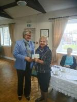 Meeting 7 Nov 2017: Donation to Admiral Nurses Charity