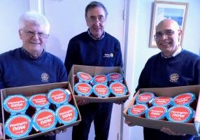 2016 Christmas Pudding Appeal for 'Meningitis Now' FOURTEEN DOZEN DELIVERED