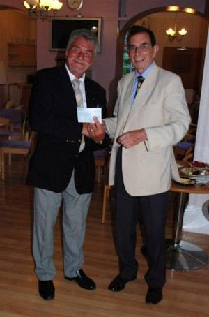 Mayor of Runnymede's Cheque Presentation
