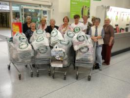 the Inner Wheel Air Ambulance Collection Day