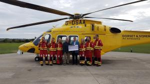 Support for Air Ambulance