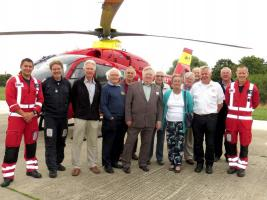 Air Ambulance Visit and Presentation