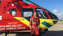 Lunch - club meeting - speaker Ruth Dunkin - Thames Valley Air Ambulance