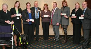 Mar 2013 Charity Cheque presentations - at 7.30pm by Club Council Mtg