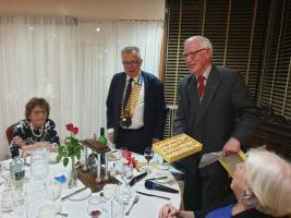 Twin Club Visit - The Rotary Club Of Ameins France