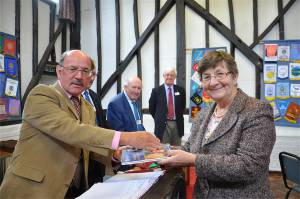 18th September 2013 - Terry Neale joins the Rotary Club of Amersham