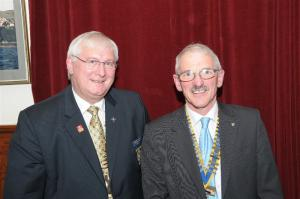 District Governor Andy Slater visits the Club