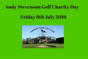 Andy Stevenson Charity Day. Rookery Park Golf Club - huge success
