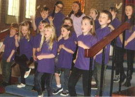 Musical Lunch at St Columba's School in aid of 500 miles