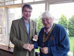 New Member of Crieff Rotary